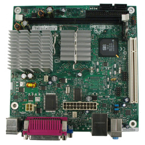 Intel D201GLY2 Mainboard: Top View