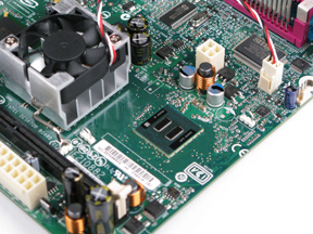 Intel Atom 330 Mainboard