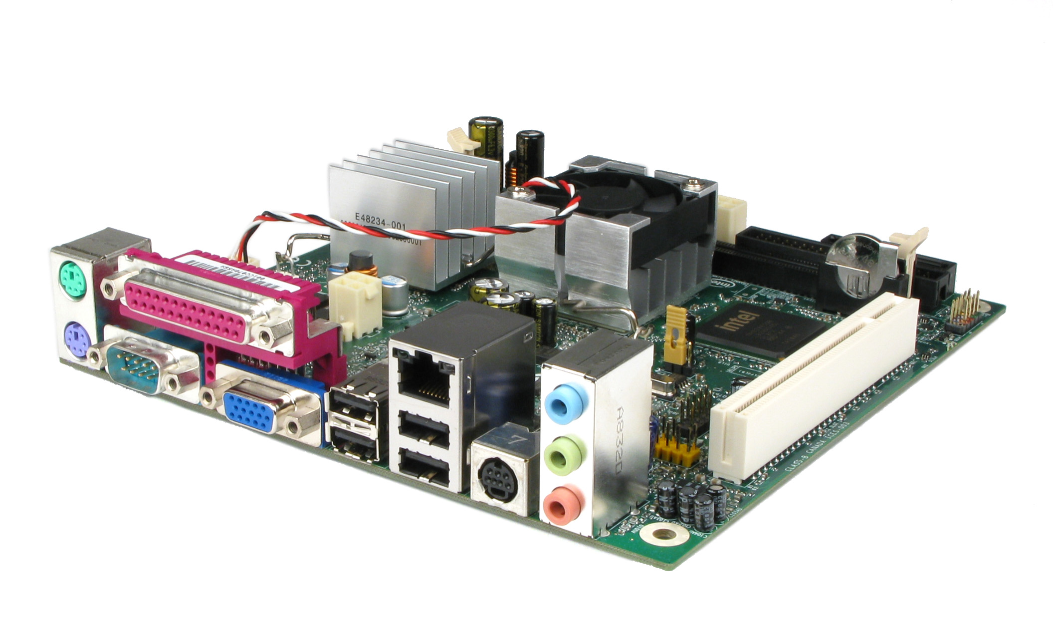 Intel\'s D945GCLF2 Little Falls 2: The DiAtomic Mainboard