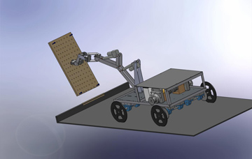 Rover Chassis and Arm