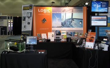 Logic Supply Booth at ESC