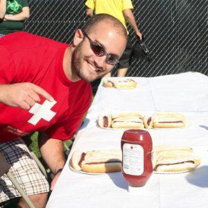 Hot Dog Contest Winner