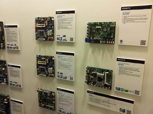 Mini-ITX boards at Computex