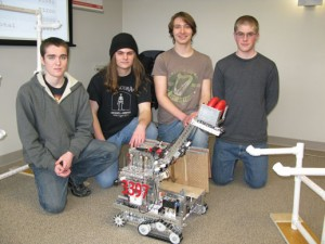 Local High School Robotics Team Impresses Logic Supply