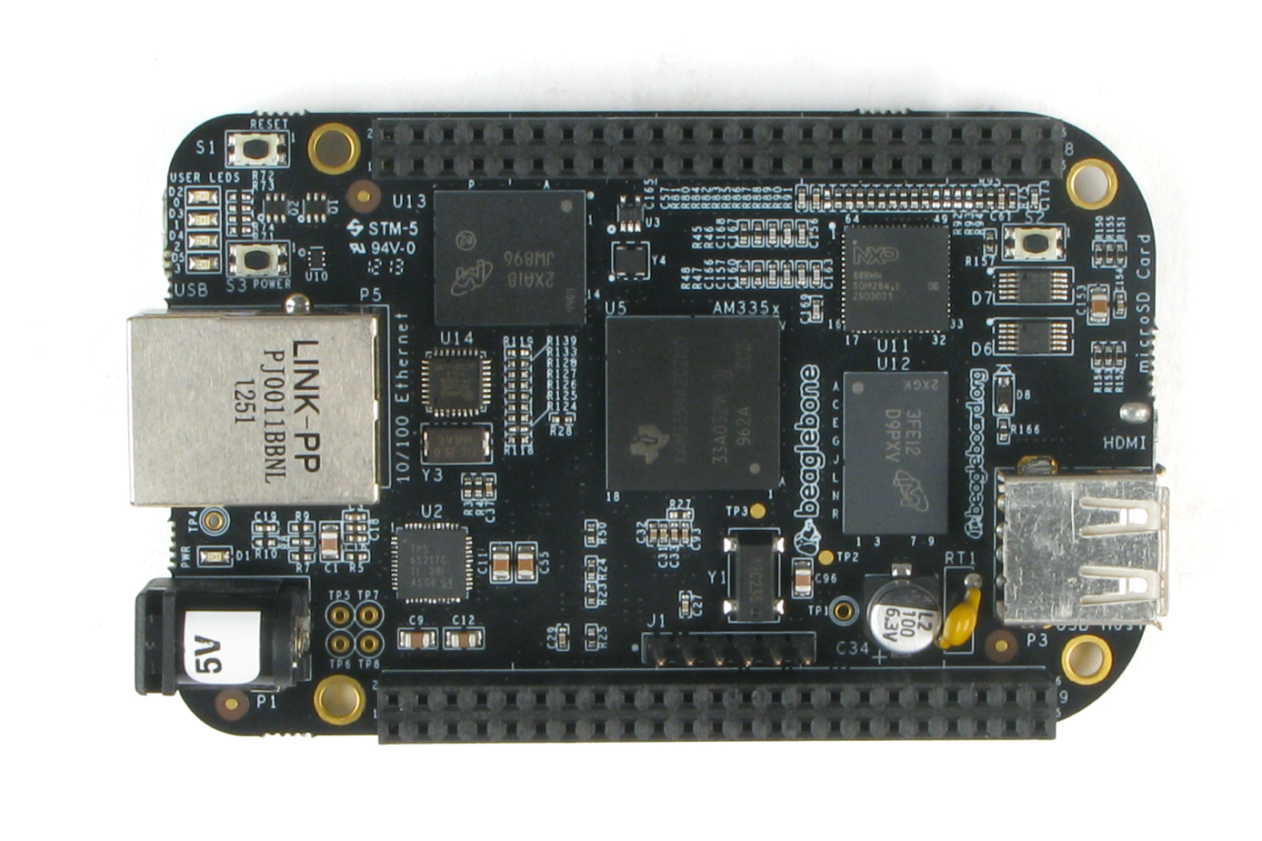 Use the BeagleBone Black GPIO Pins as Digital Inputs