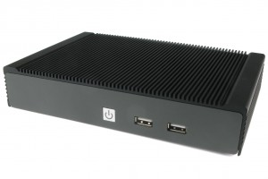 Logic Supply Fanless NUC Front