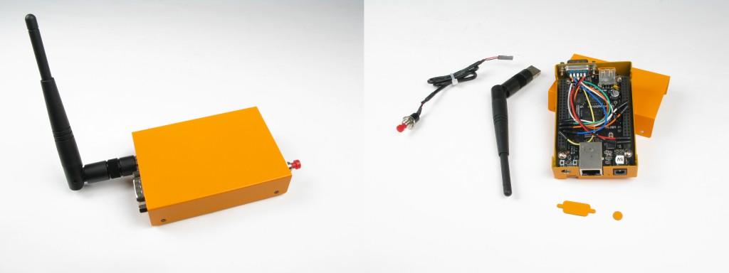 Beaglebone black case and insides
