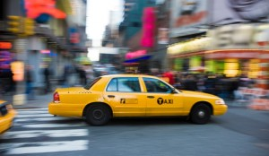 Taxi in NYC
