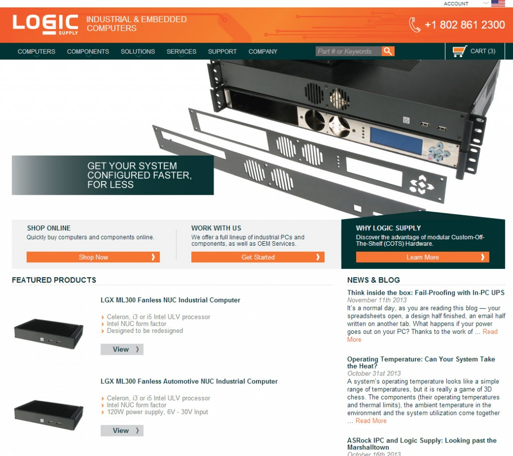 The Download: Logic Supply's Website Gets an Upgrade