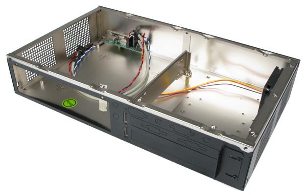 Inside the MC600 Industrial Expandable Mini-ITX Case