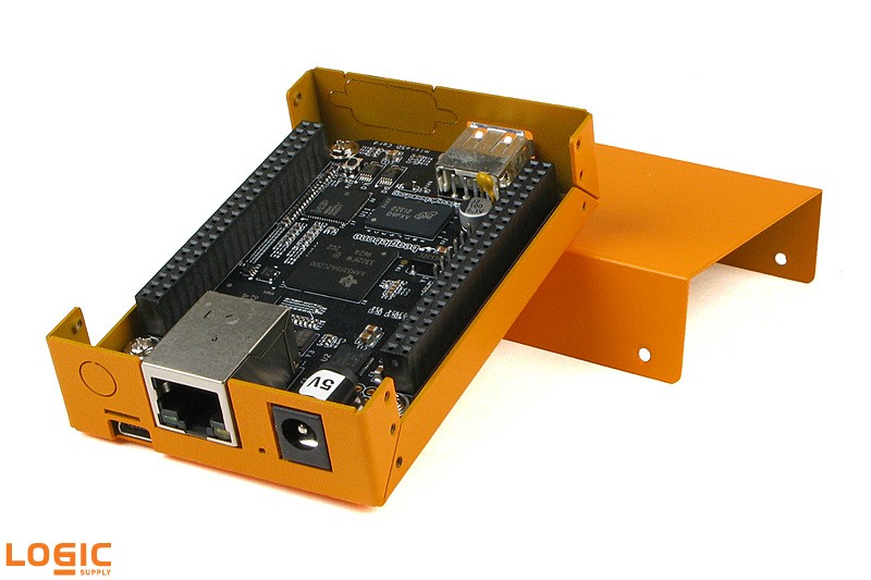 BeagleBone Black with OnLogic Orange Case