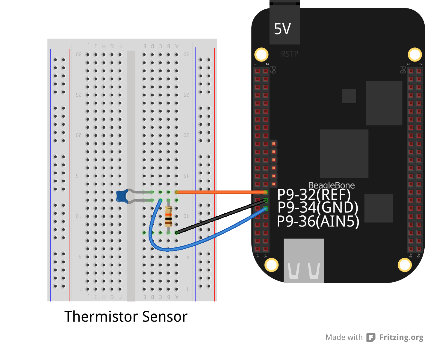 How to Build a BeagleBone Black Temperature Sensor