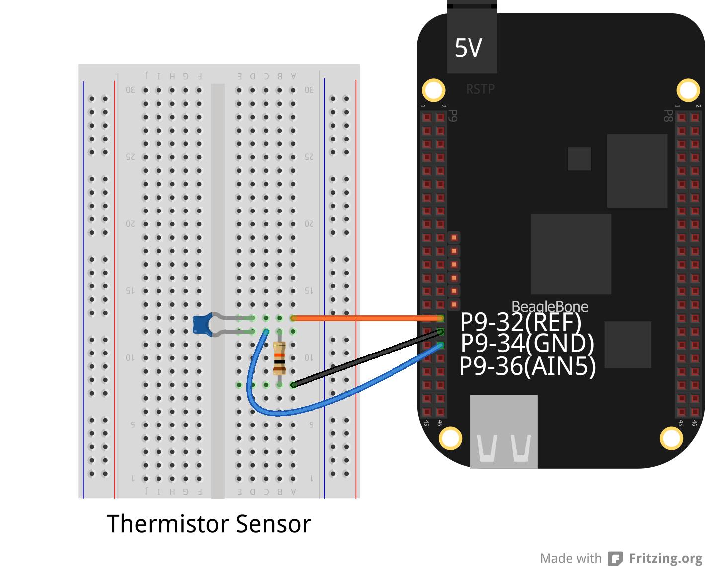 How to Build a BeagleBone Black Temperature Sensor