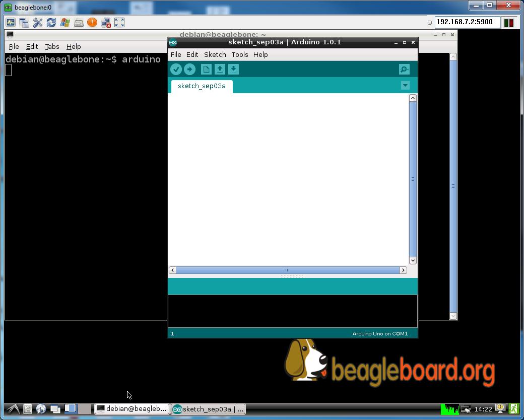 BeagleBone Black arduino