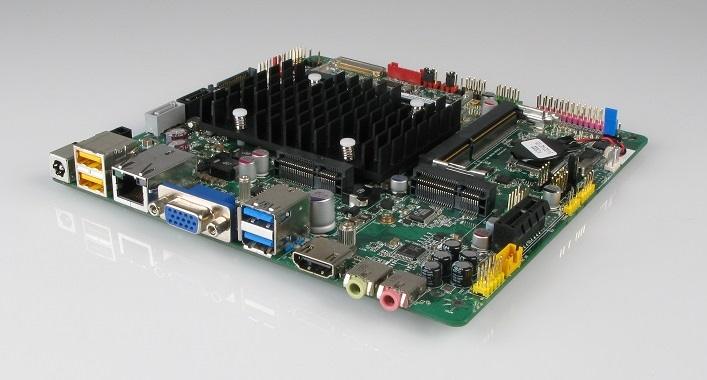 The Mitac PD10BI replaces the EOL Intel DN2800MT