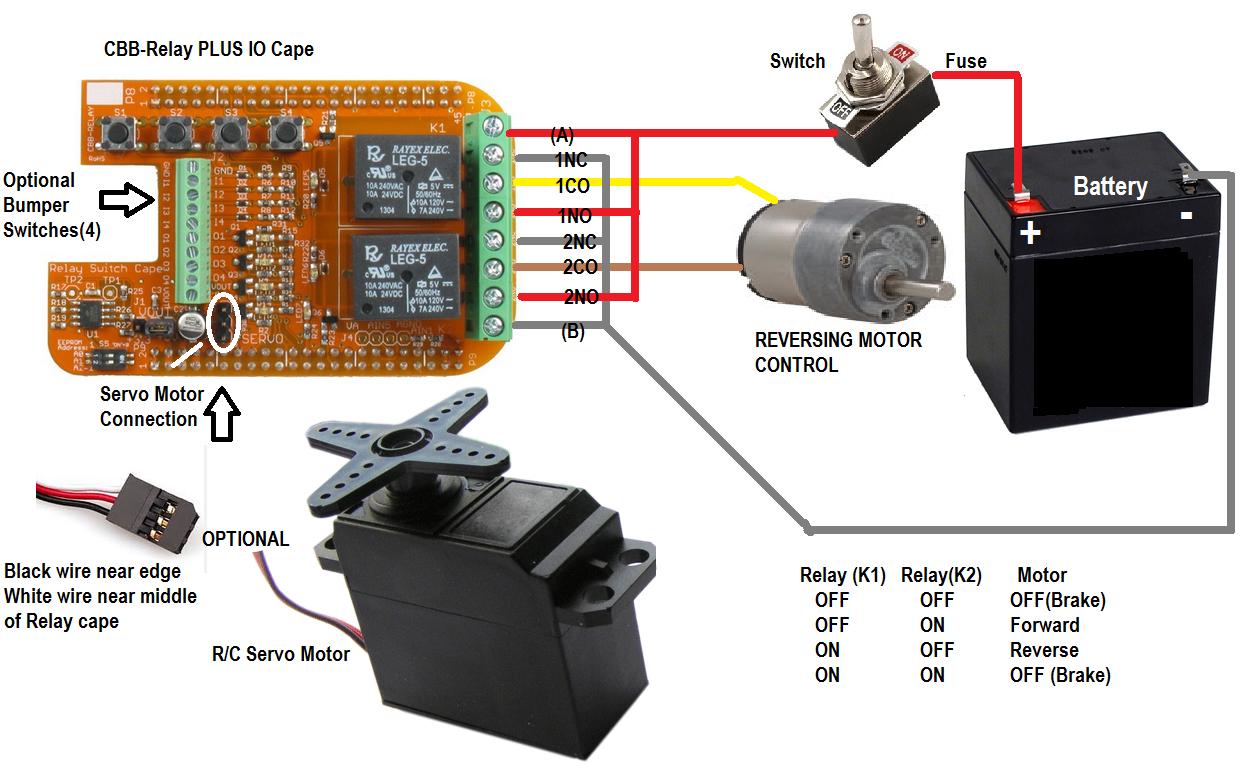How To Build A Beaglebone Robot Servo Motor Wiring Diagram Control