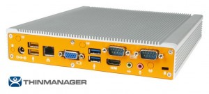 Rear I/O of ThinManager-Ready ML210G-10-TR from Logic Supply