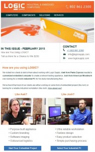 Logic Supply February 2015 Newsletter cropped