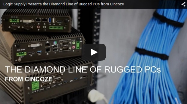 New Videos: The Diamond Line and Crystal Panel PCs from Cincoze