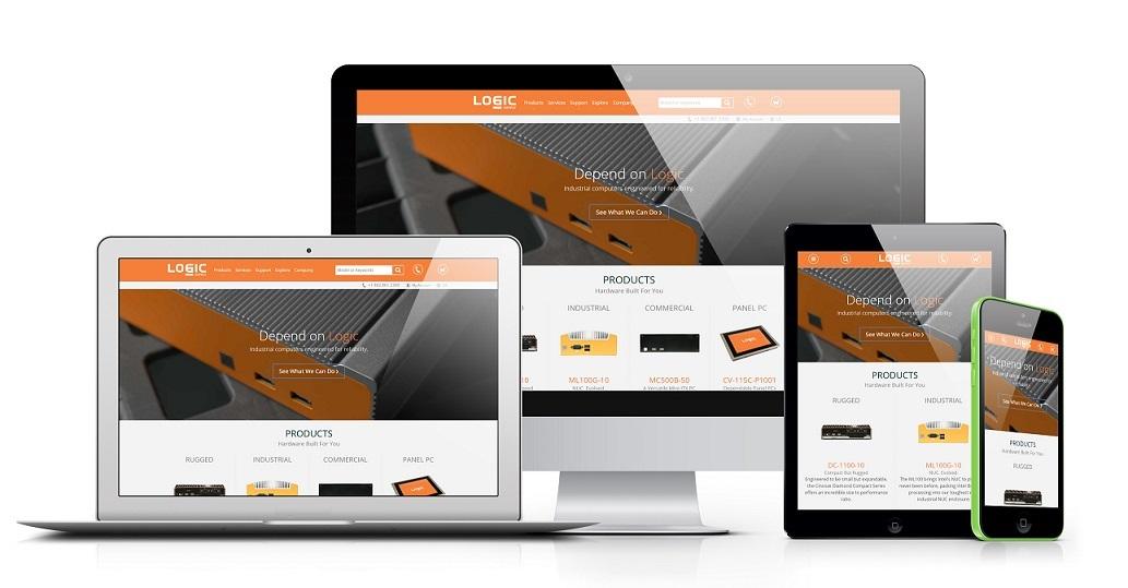 New Logic Supply Website