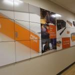 Logic Supply Grand Opening customer wall