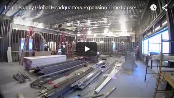 OnLogic construction timelapse