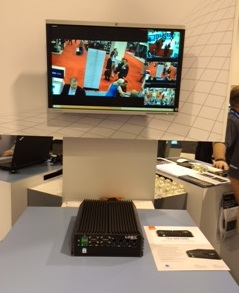 MX1000 at Milestone ASIS Booth