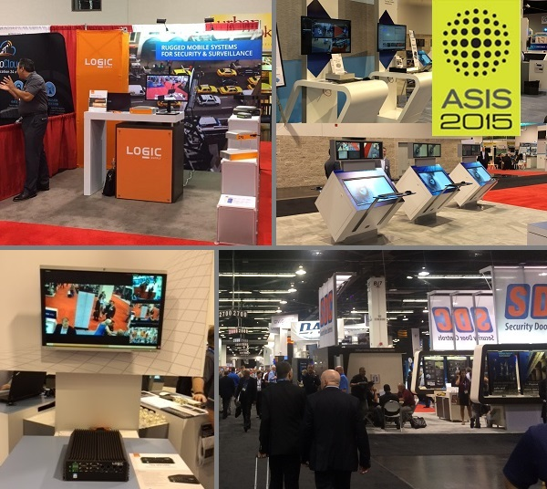 ASIS 2015 Show Floor Logic Supply and Milestone Booths