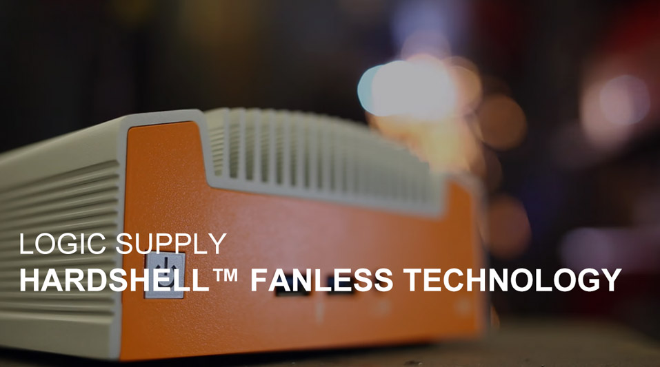 Video: Logic Supply Hardshell Fanless Technology
