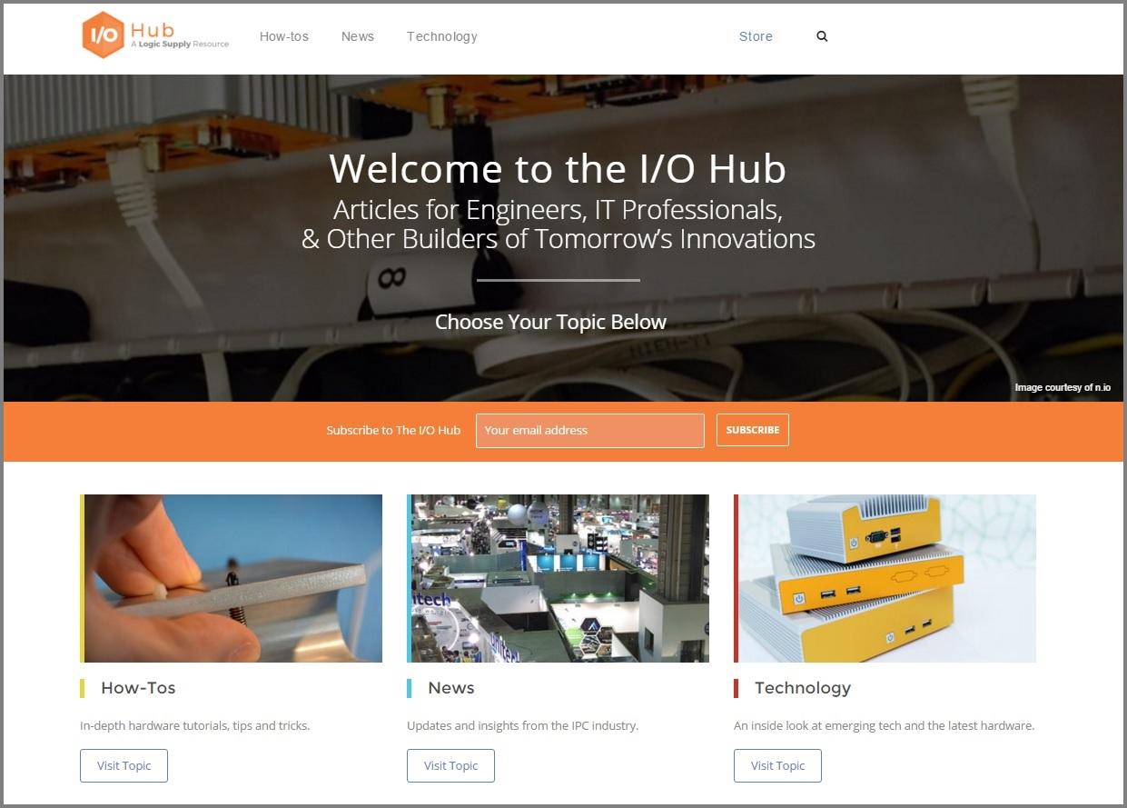 Welcome to the I/O Hub!