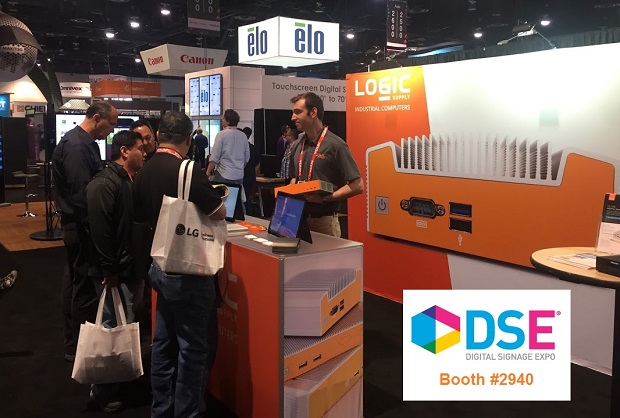 DSE 2016 OnLogic Booth