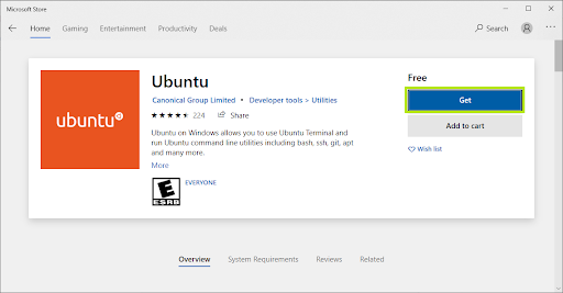 Ubuntu confirmation window