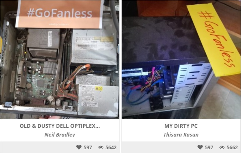 The World's Dirtiest PC Contest –  And the Winner is…