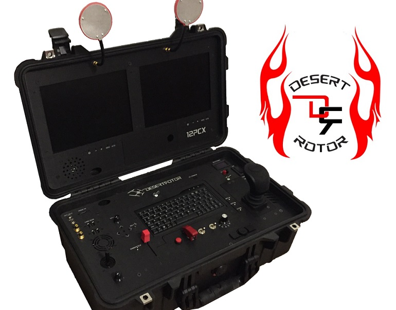 Powering Innovation: Desert Rotor's Next Generation Drone Controller