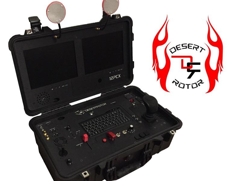 The Desert Rotor 12PCX UAV Controller