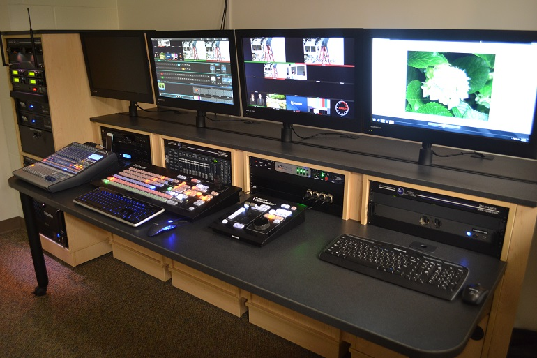 Teleprompter Installation - Custom Design & Installation by NPI Audio Visual Solutions - Cleveland, Ohio