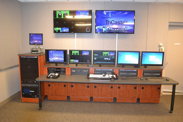 Teleprompter - Custom Design & Installation by NPI Audio Visual Solutions - Cleveland, Ohio
