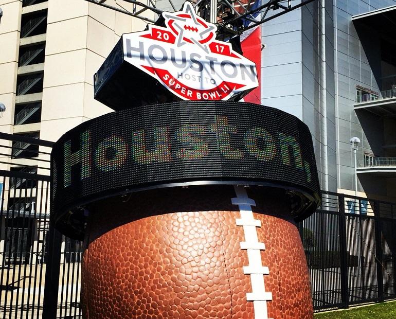 Powering Innovation: Staging Solutions' Super Bowl LI Countdown Clocks