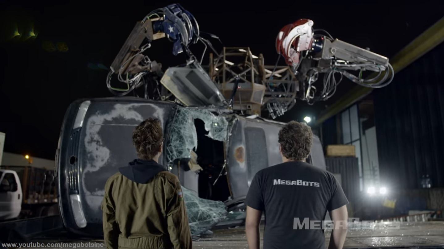Megabots Car Lift Aftermath