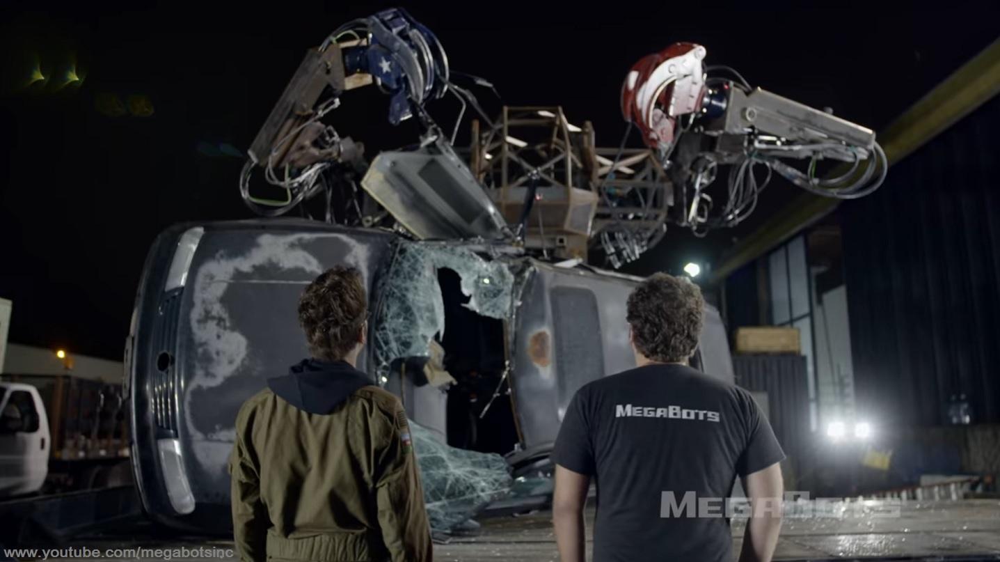 Powering Innovation: MegaBots Giant Fighting Mech