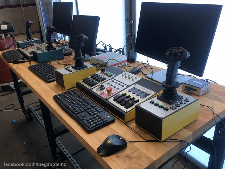 Megabots Control Setup