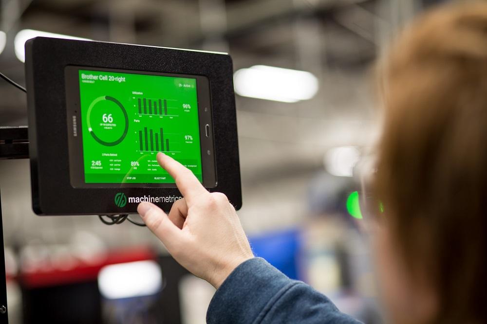 MachineMetrics Touchscreen