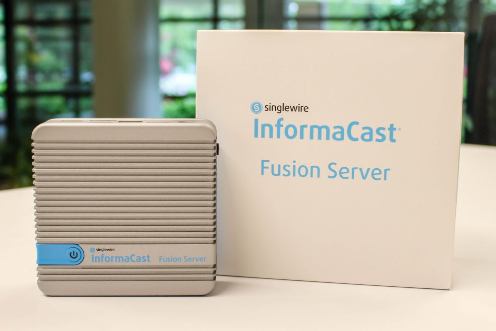 In an Emergency, the InformaCast Fusion Server from Singlewire Could Save Lives
