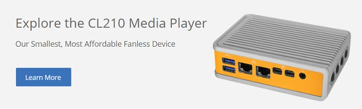 CL210 Media Player CTA
