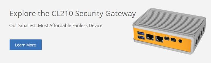 CL210 Security Gateway CTA