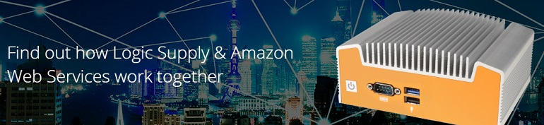 AWS and Logic Supply Banner