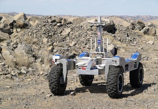 rugged edge computers in NASA rover