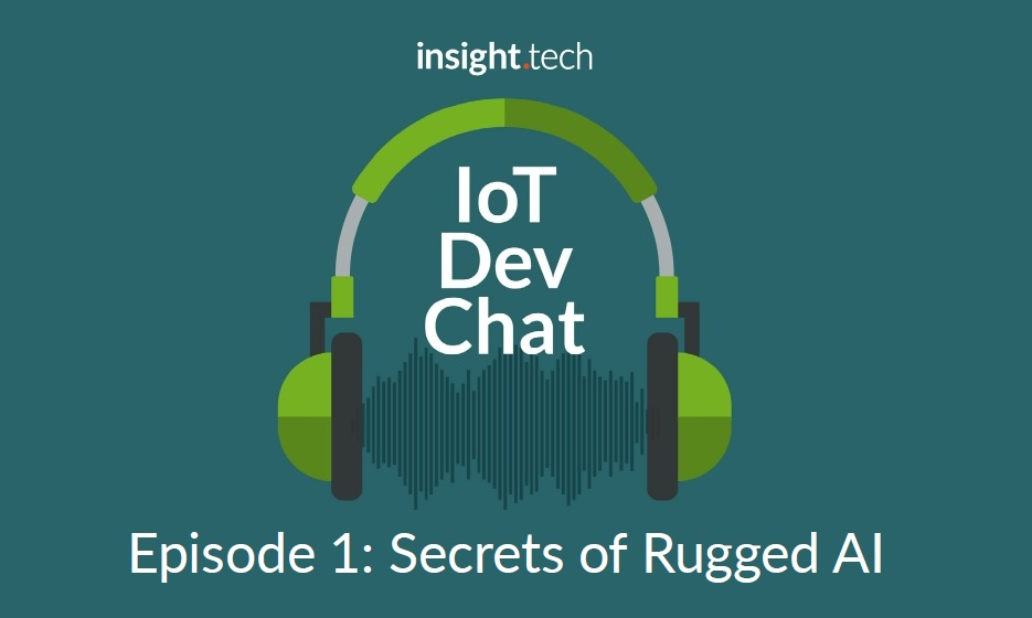 Our own Johnny Chen is the first guest on insight.tech's new podcast