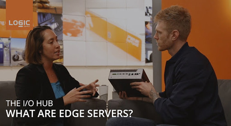 The question: What are Edge Servers is answered in the I/O Hub vlog cast
