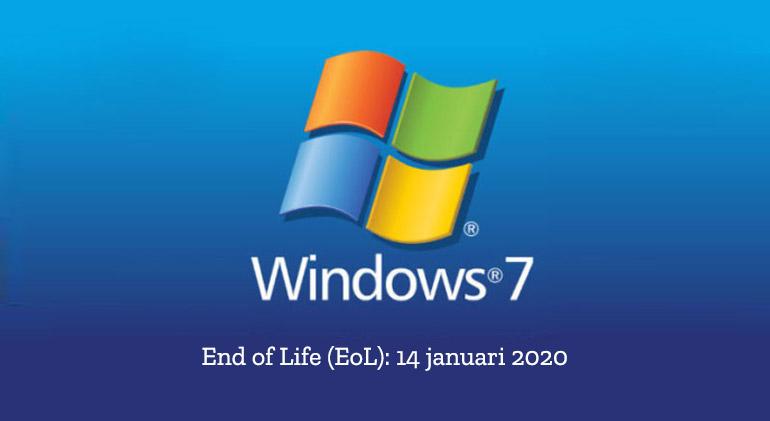 Windows 7 heeft het einde van zijn levenssyclus bereikt